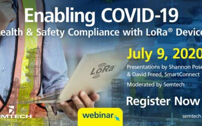 SmartConnect and Semtech Present Free COVID-19 Health and Safety Webinar